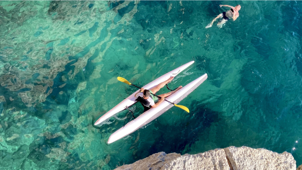 The Super Kayak is presently on Kickstarter