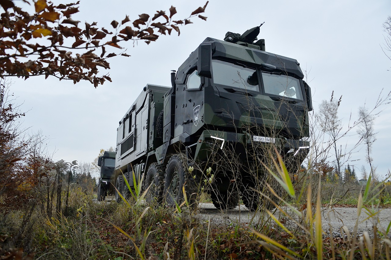 The HX3 can carry cabin-mounted heavy weaponry