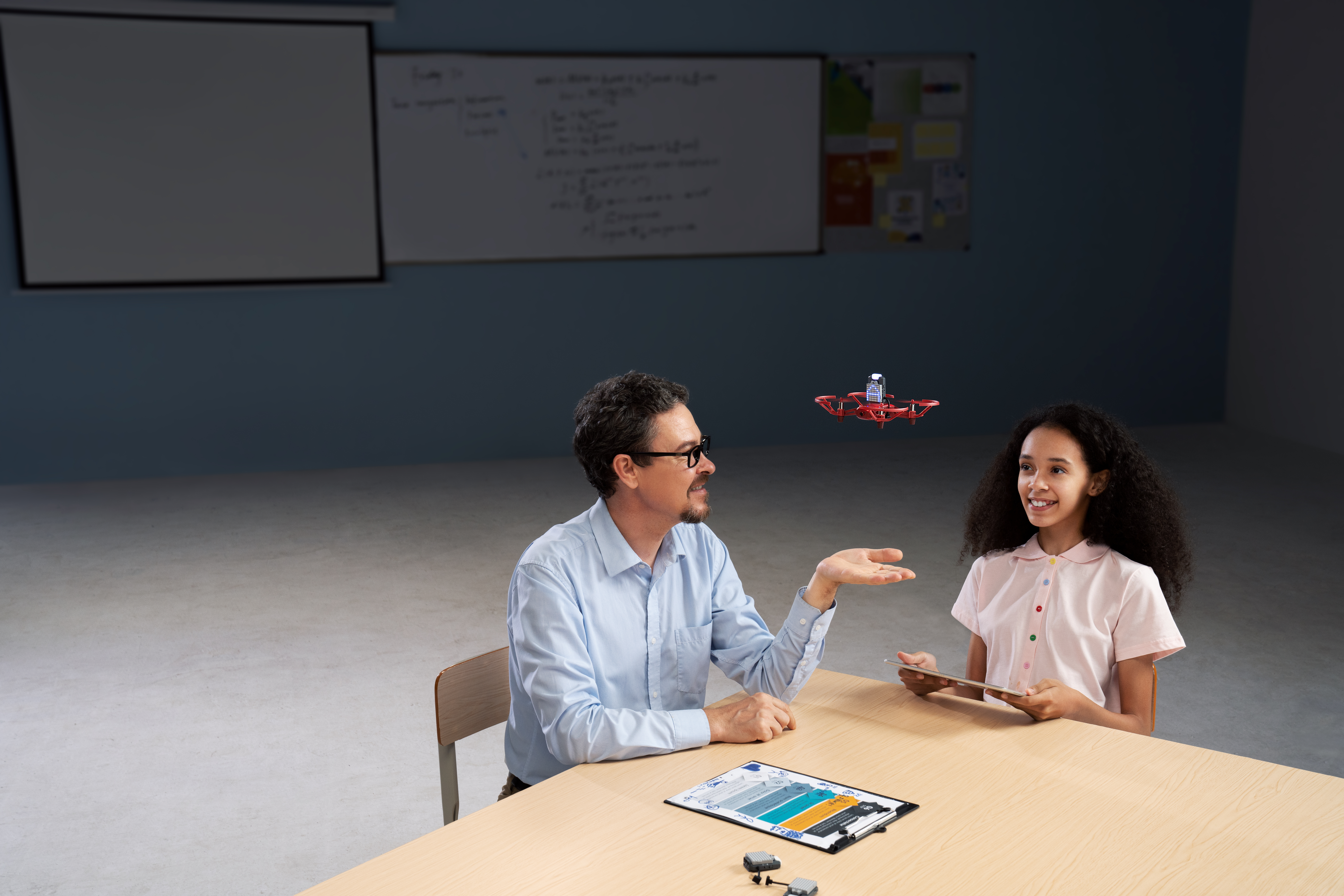 With the help of educators, students can learn to control the RoboMaster TT drone using open-source coding platforms