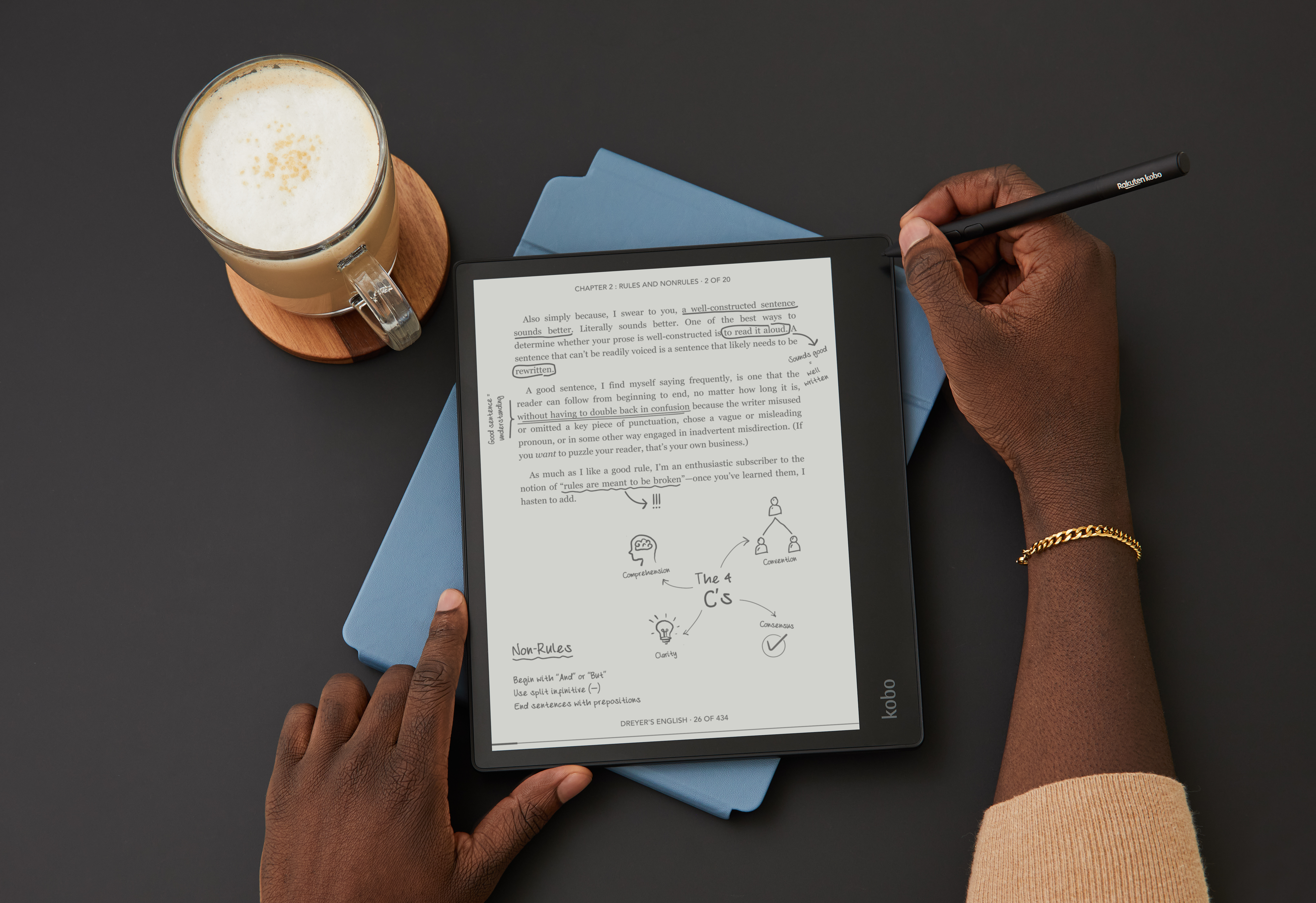 Kobo says that the Elipsa is aimed at bridging the gap between print and ebooks, between reading and creating