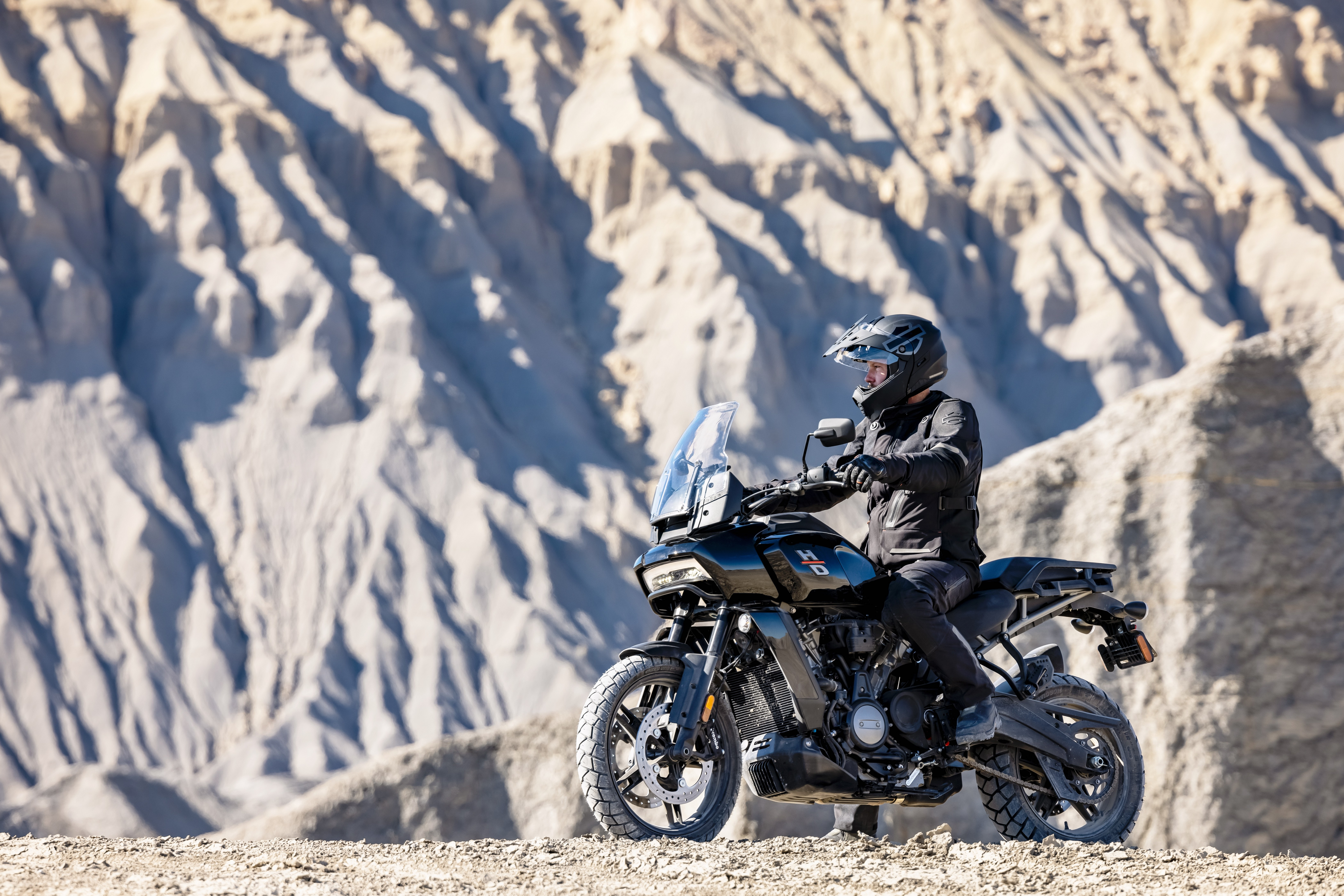 The 2021 Pan America 1250 is Harley-Davidson's first ever adventure bike