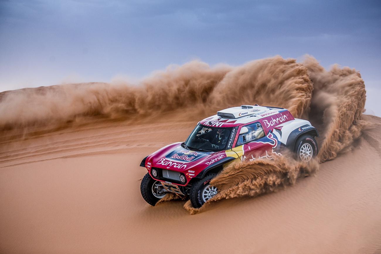 Mini reveals its Dakar-ready dune buggy for the Arabian desert