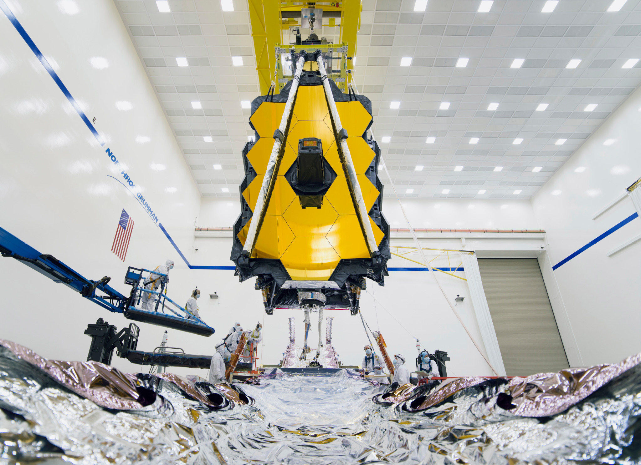 NASA's James Webb Space Telescope is finally complete