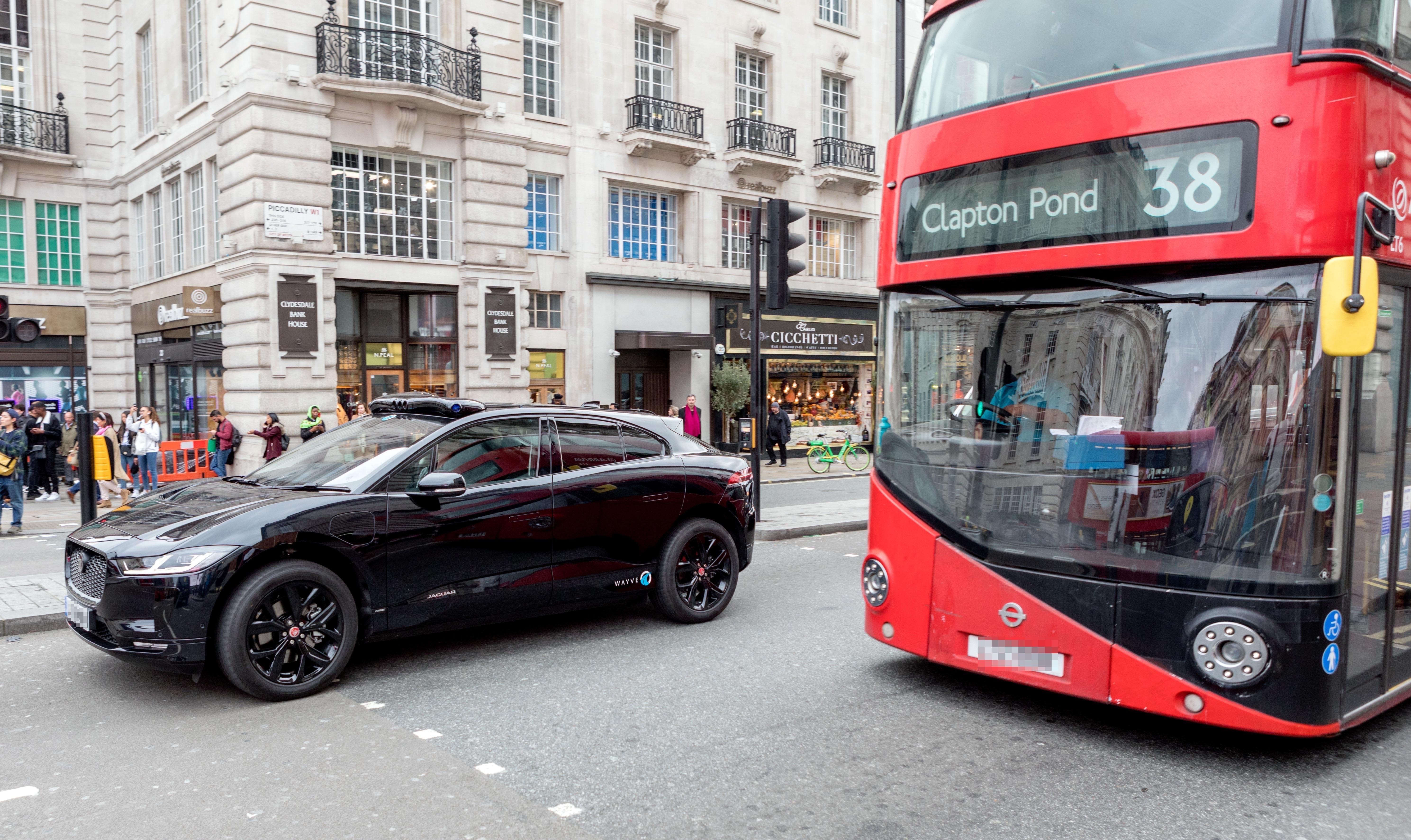 Wayve to start autonomous car trials in London