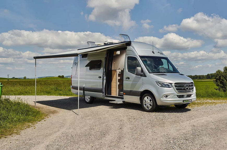 The all-new Alphavan packs plenty of size and comfort without loads of weight
