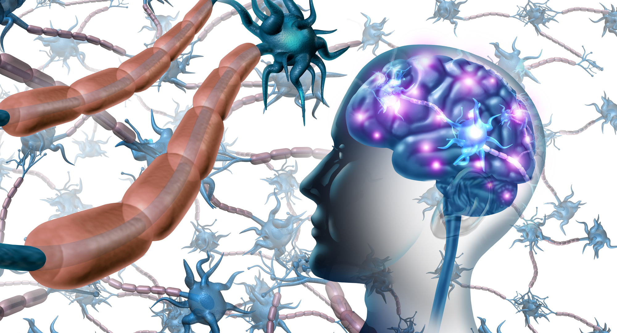 It is hypothesized a severe viral infection in adolescence can trigger a cascade of neuroinflammation leading to the onset of neurological disease years, or even decades, later