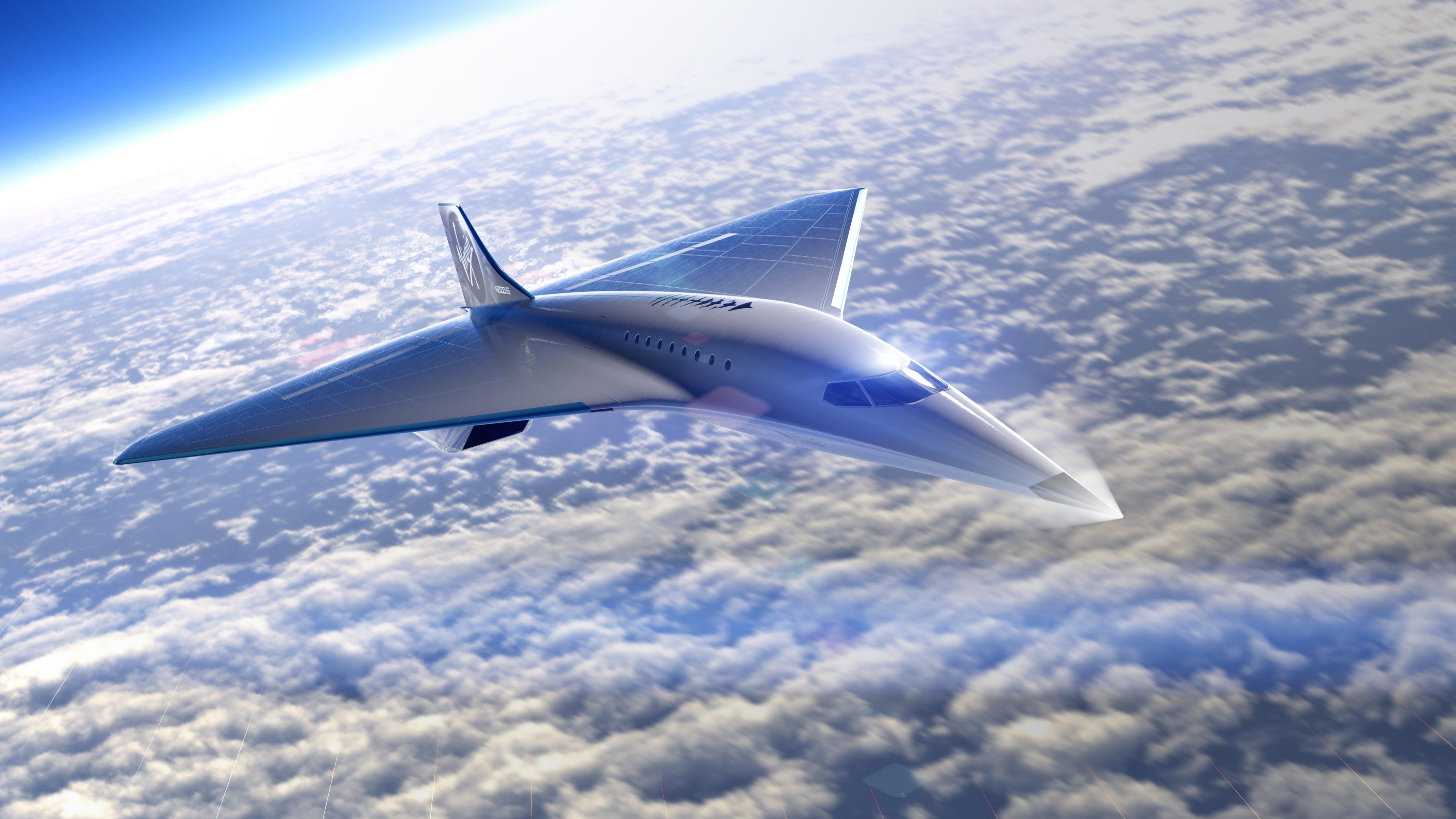 The concept has a delta-wing design