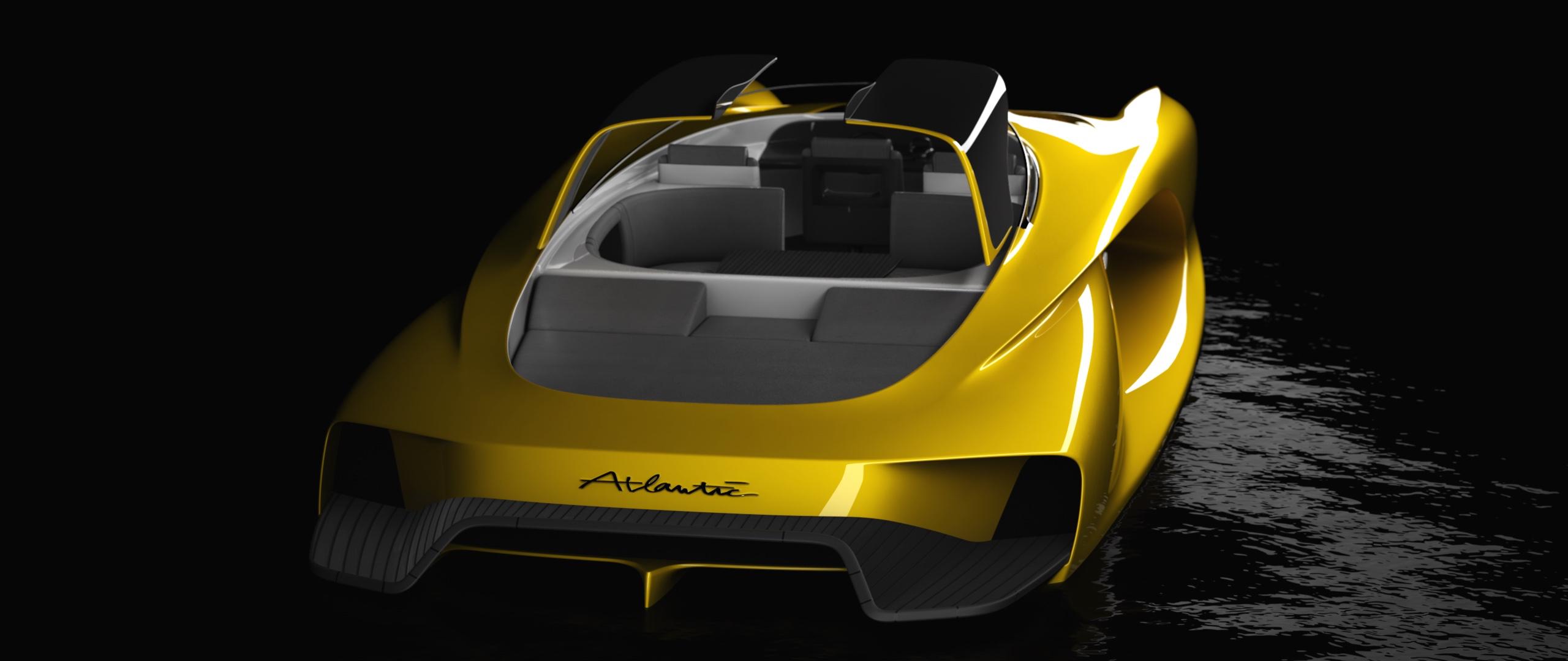 Atlantic sport tender is like an aquatic Bugatti