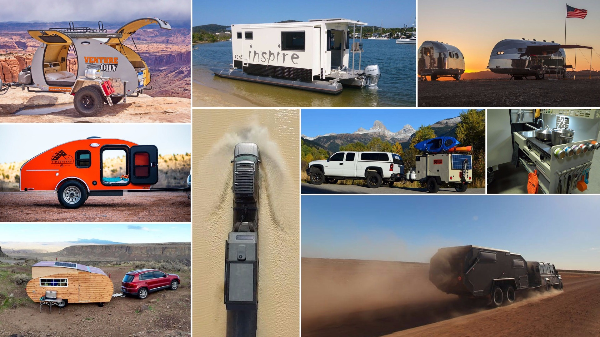 Exploring The Best Camping Trailers Of 2016