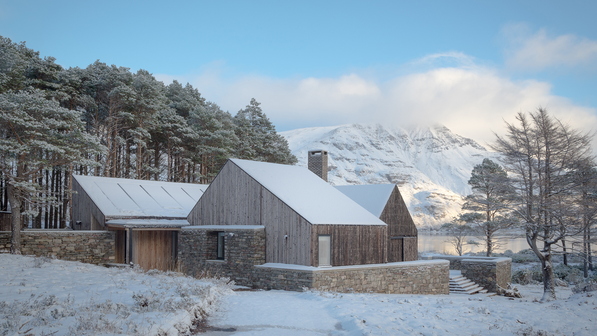 Remote off-grid Lochside House declared Britain's House of the Year