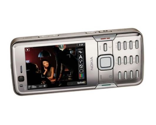 New Nokia N82 optimized for navigation, photography and