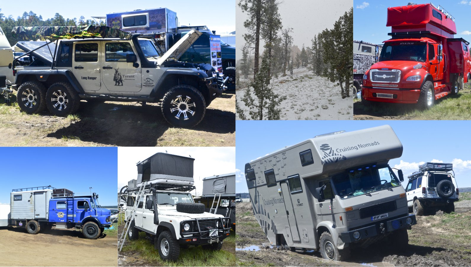 In pictures: Rubber, metal and mud at Overland Expo West 2015