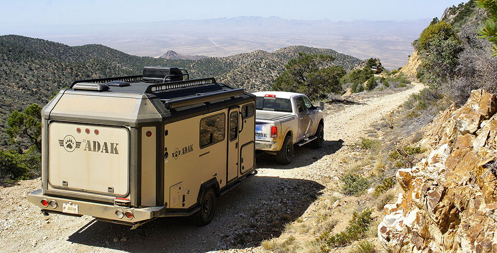 ADAK camping trailer keeps you cozy off the grid