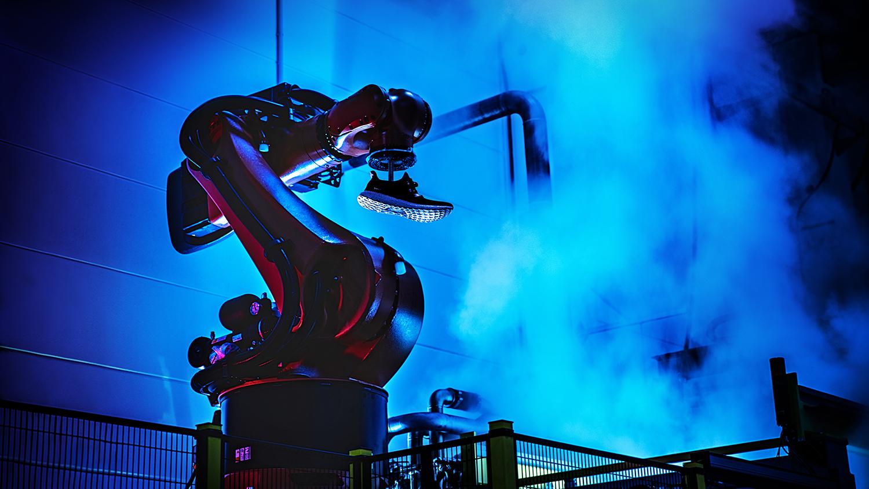 Rapid robots staff new Adidas factory