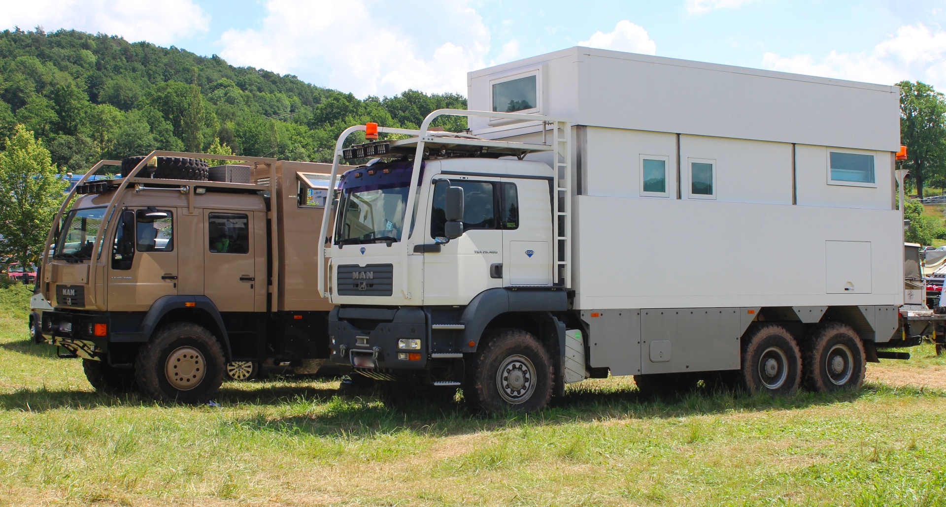 In photos: Adrift in a sea of monstrous camping machines at