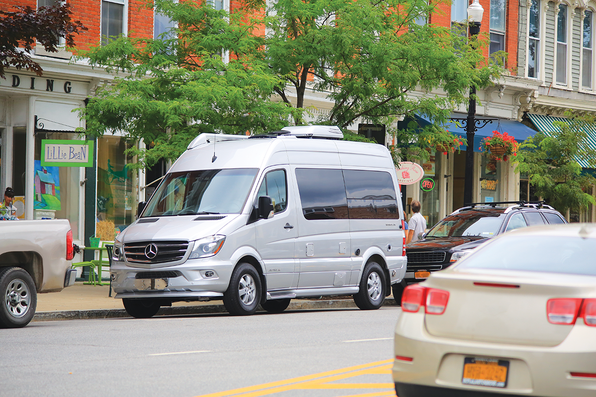 Airstream's newest camper van bridges local city streets with distant destinations