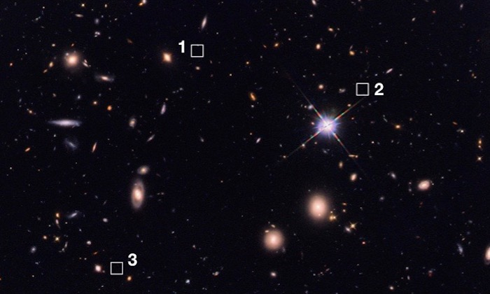 Astronomers discover 39 ancient, massive galaxies hiding in invisible light