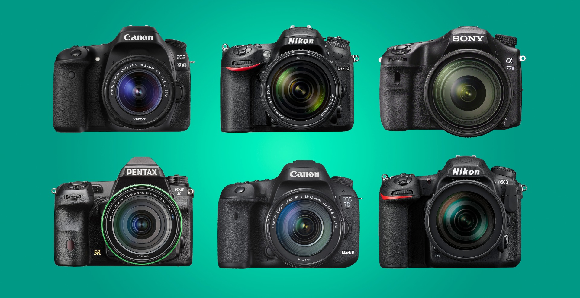 The best APS-C DSLR cameras 2016