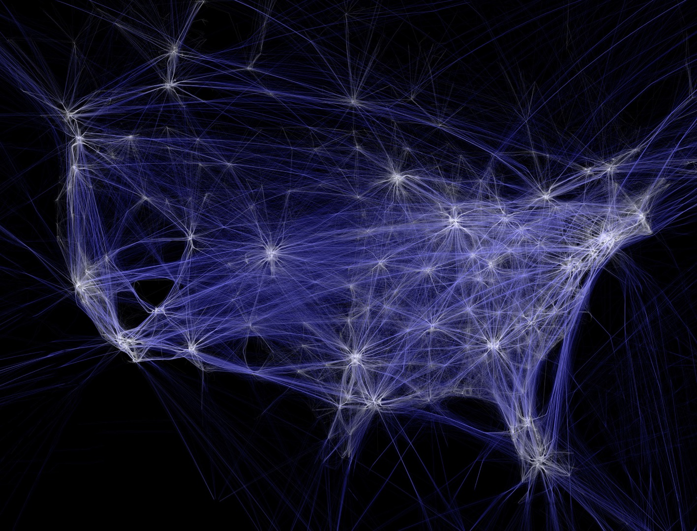 Art in the age of ones and zeros: Turning big data into art