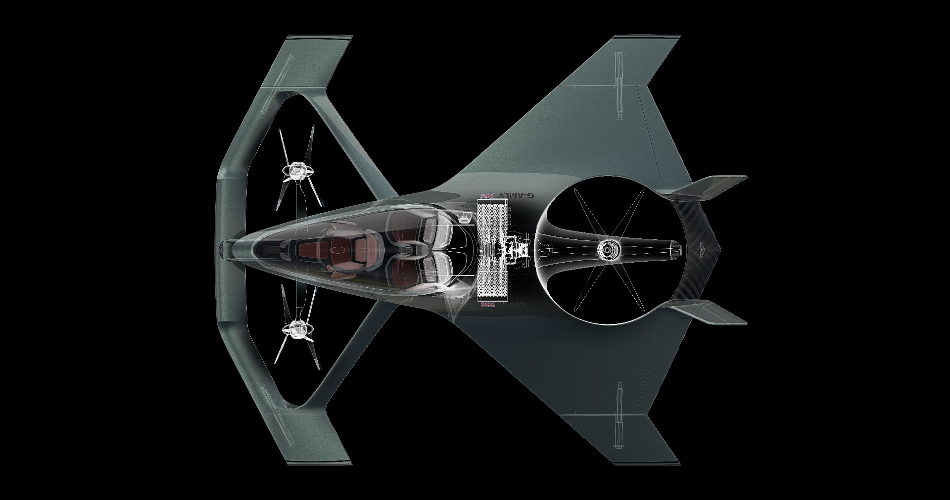 Even Aston Martin is keen to get in on the eVTOL air taxi game. The company has designed this Volante Vision concept, but we doubt it'll make production