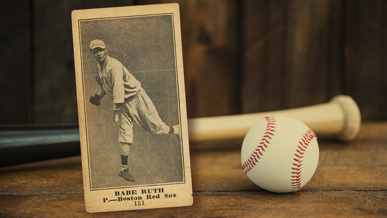 Babe Ruth Rookie Card Found In 25 Piano Sells For 108378
