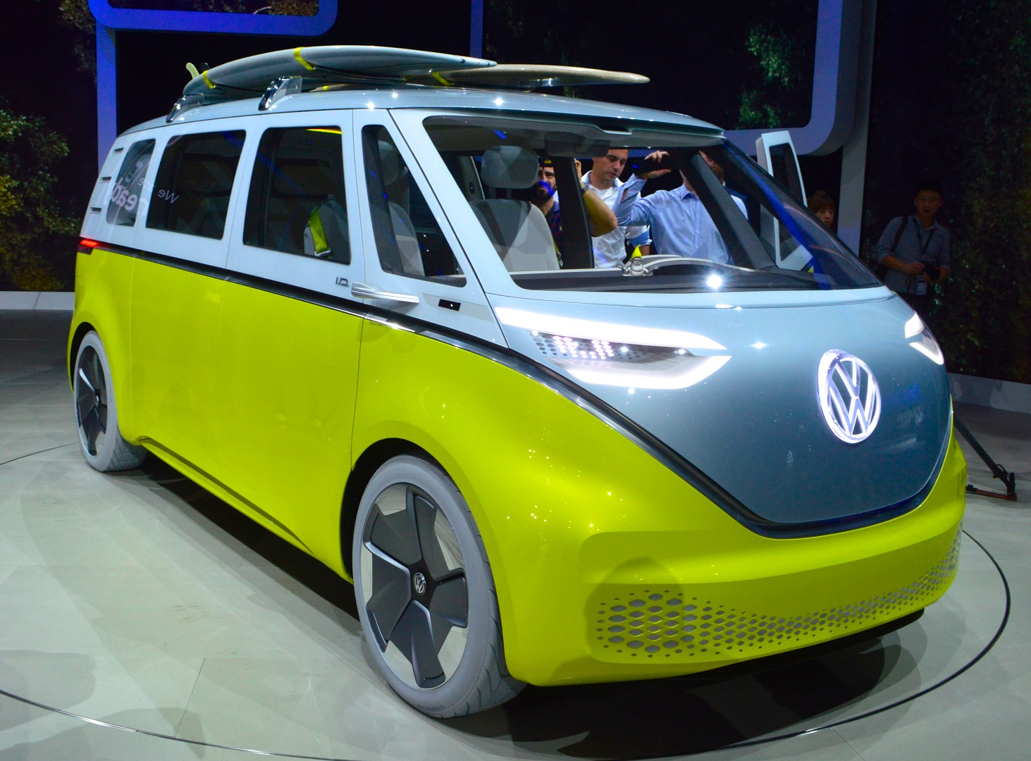 After debuting the ID. Buzz at NAIAS 2017, Volkswagen later announced its intentions to pursue production