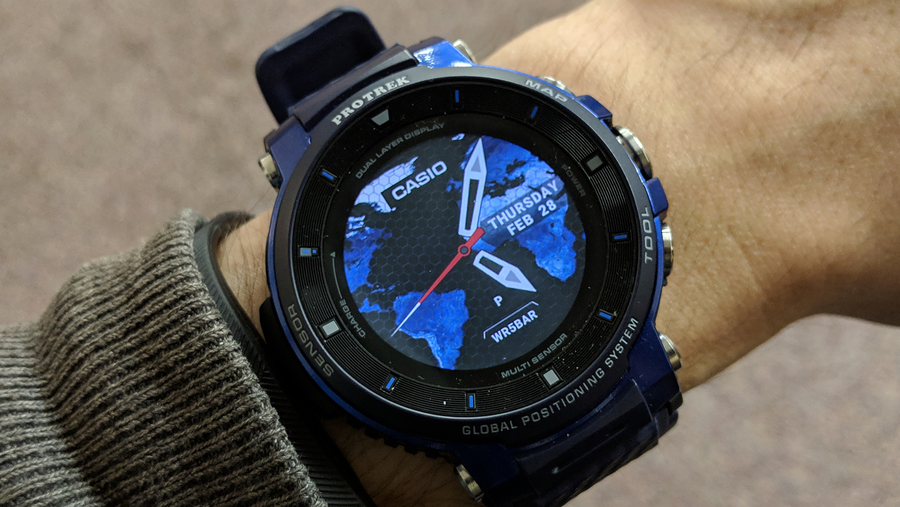Casio Pro Trek WSD-F30 review: A watch that excels in the great outdoors