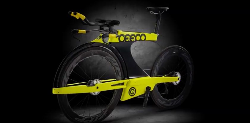 Radical tri bike reimagines the fork