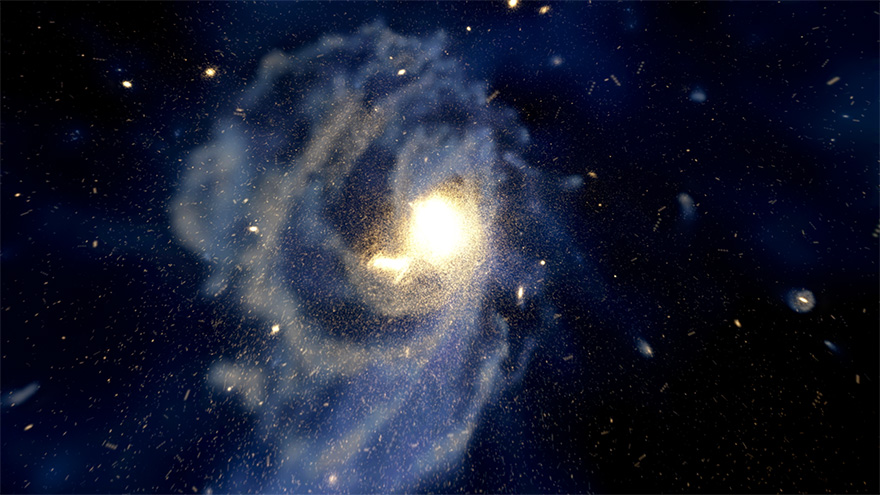 Star unlike any found in the Milky Way appears to be an intergalactic intruder