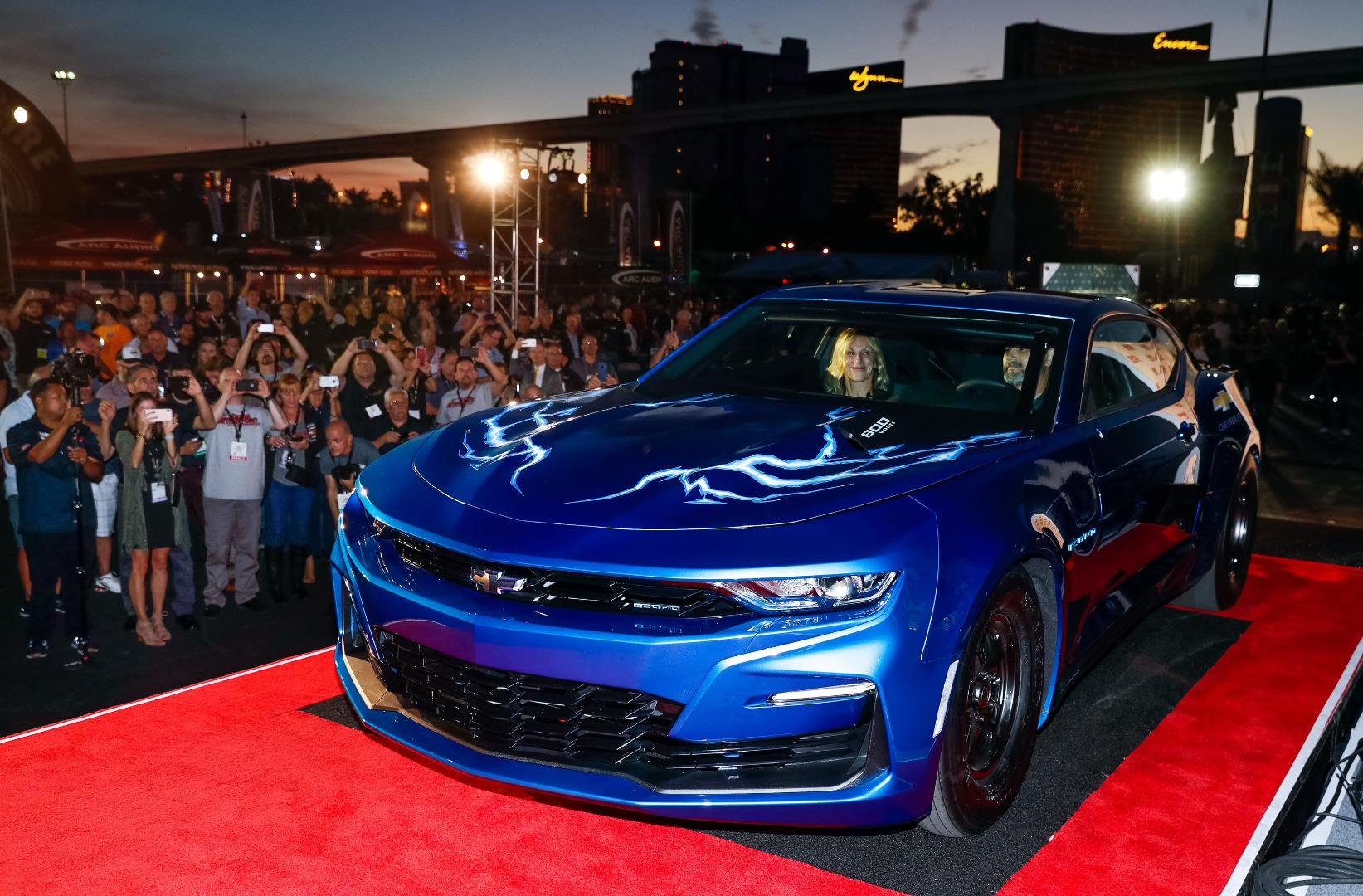 All-electric Chevy Camaro previews the future of the electric crate motor