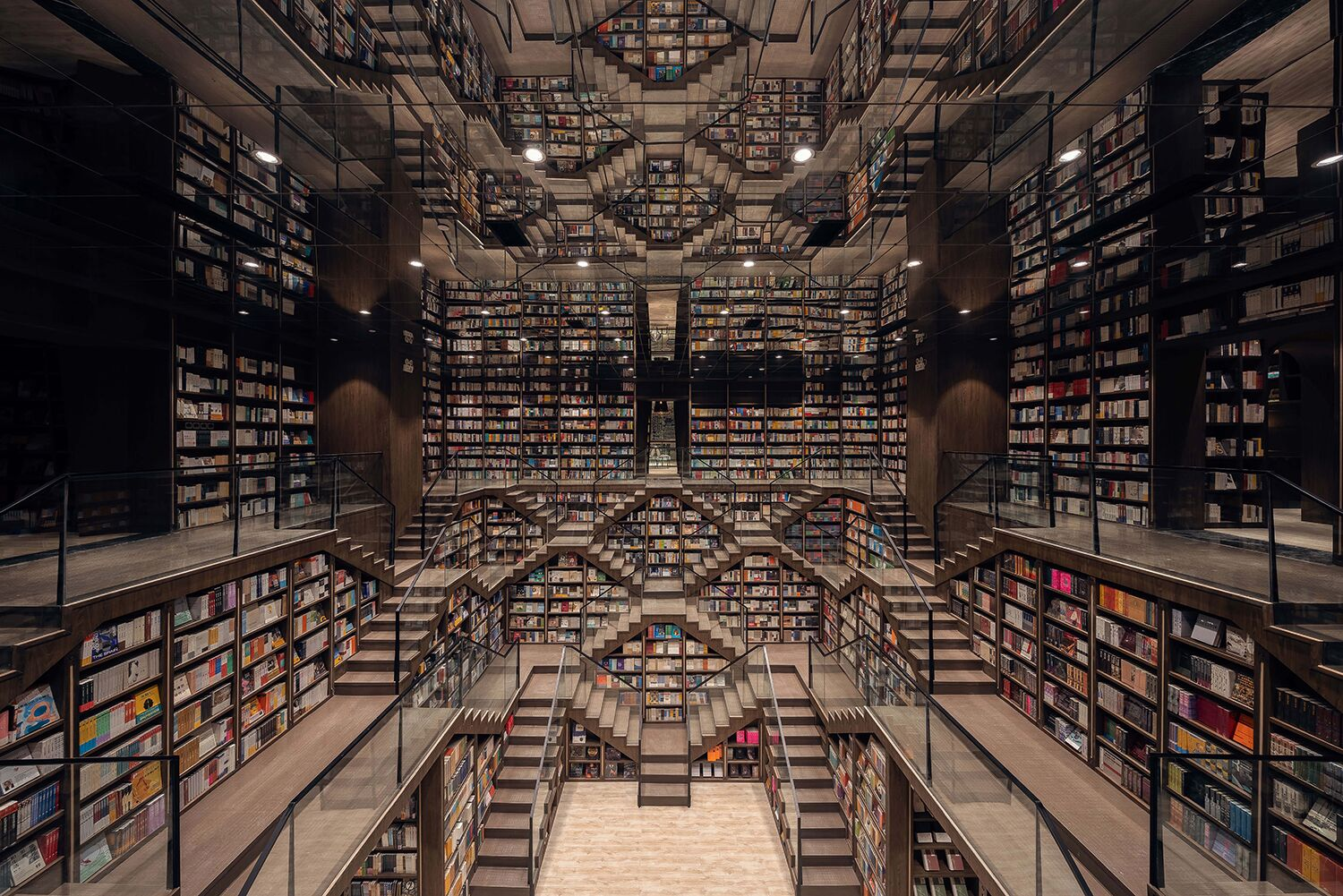 Stunning Chongqing Zhongshuge book store offers complete literary immersion
