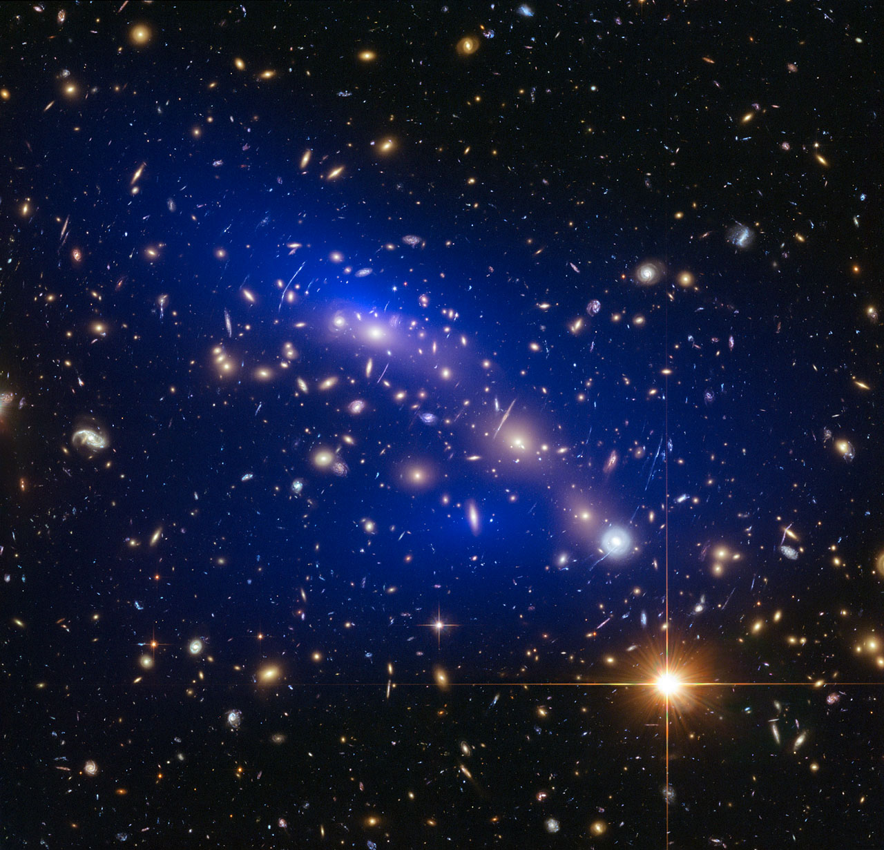 Dark matter 'can't touch this' or even itself, researchers find