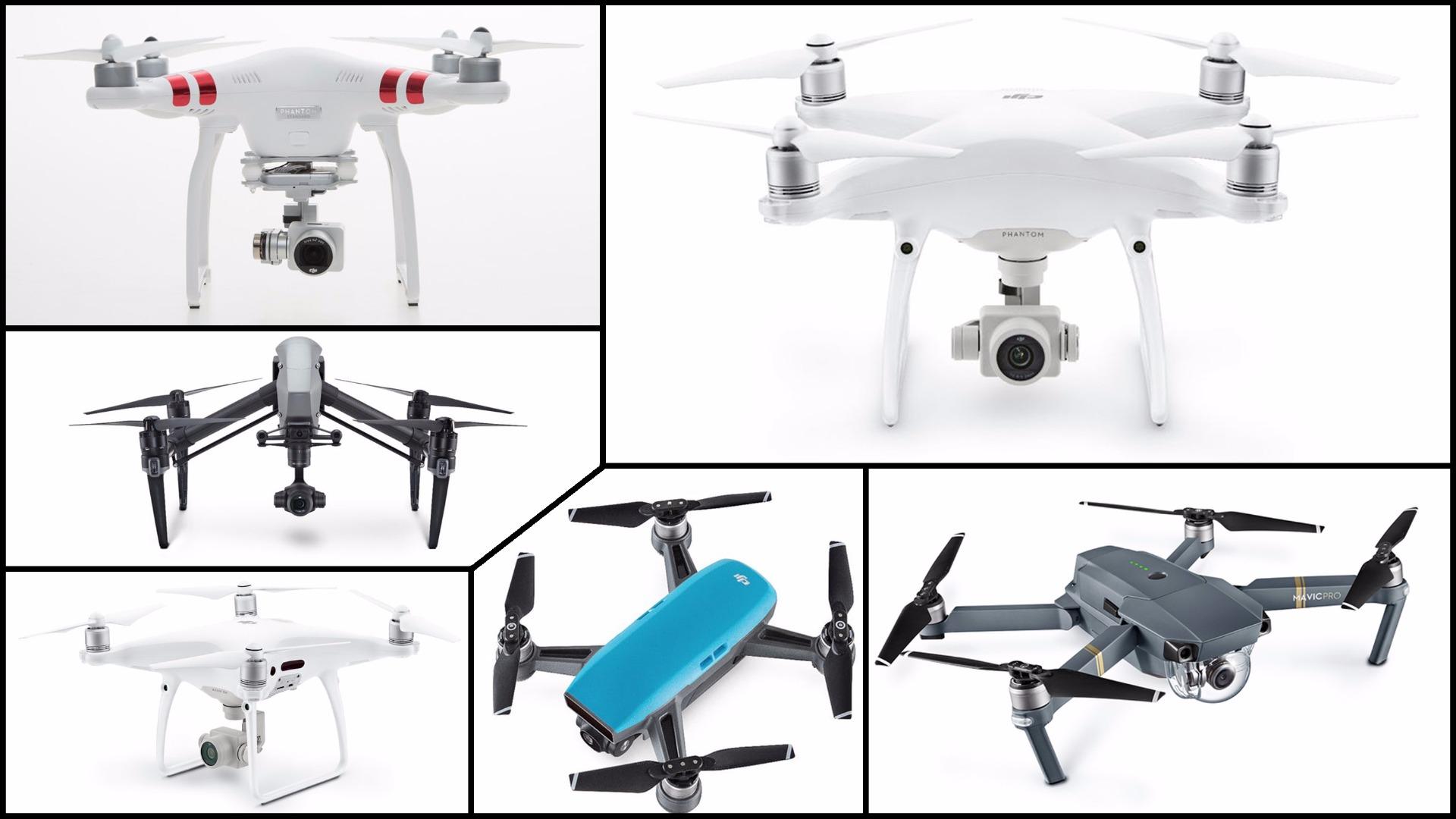 DJI drone buying guide: Spark vs. Mavic vs. Phantom