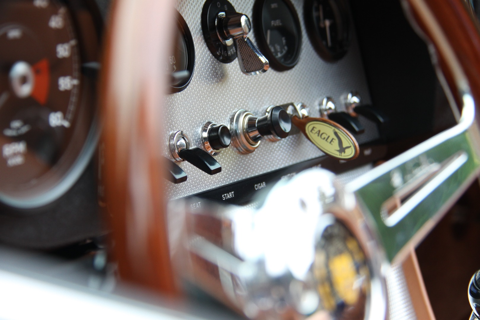 "Vintage Police Special Speedometer Photo Gauge Fridge Magnet 2 1//4/"" S+W 1950/'s"