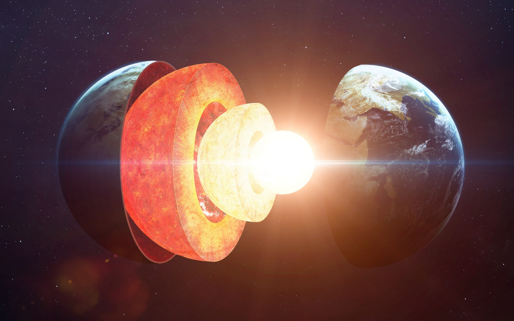 Ancient crystals suggest Earth's core is 4 billion years younger than the planet