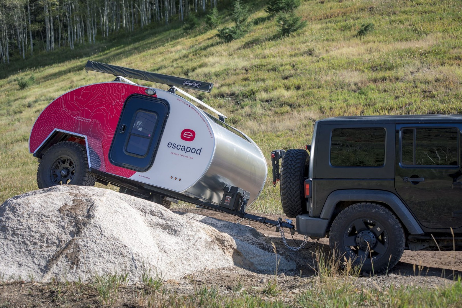 Escapod Topo travels farther and wilder than your average teardrop trailer