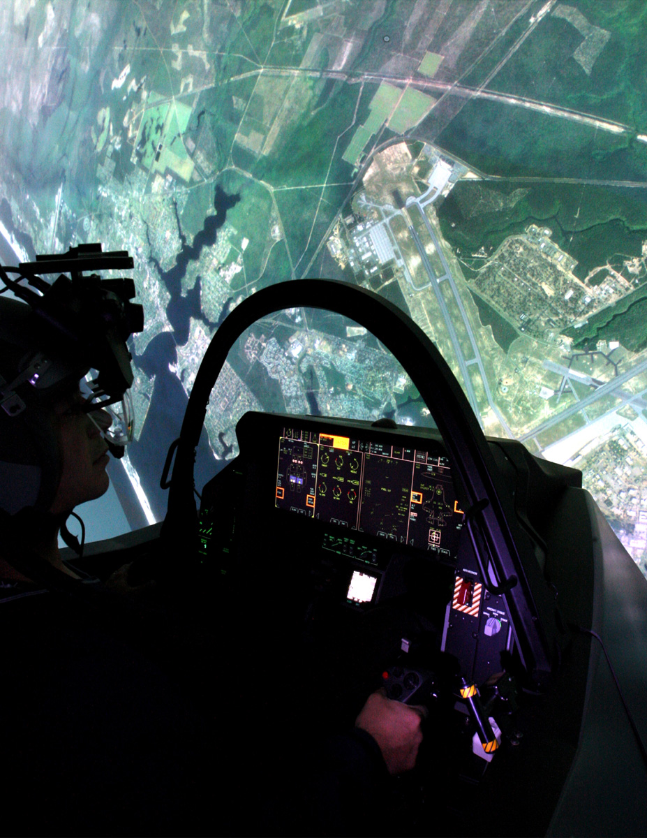 First F-35 full mission simulator delivered