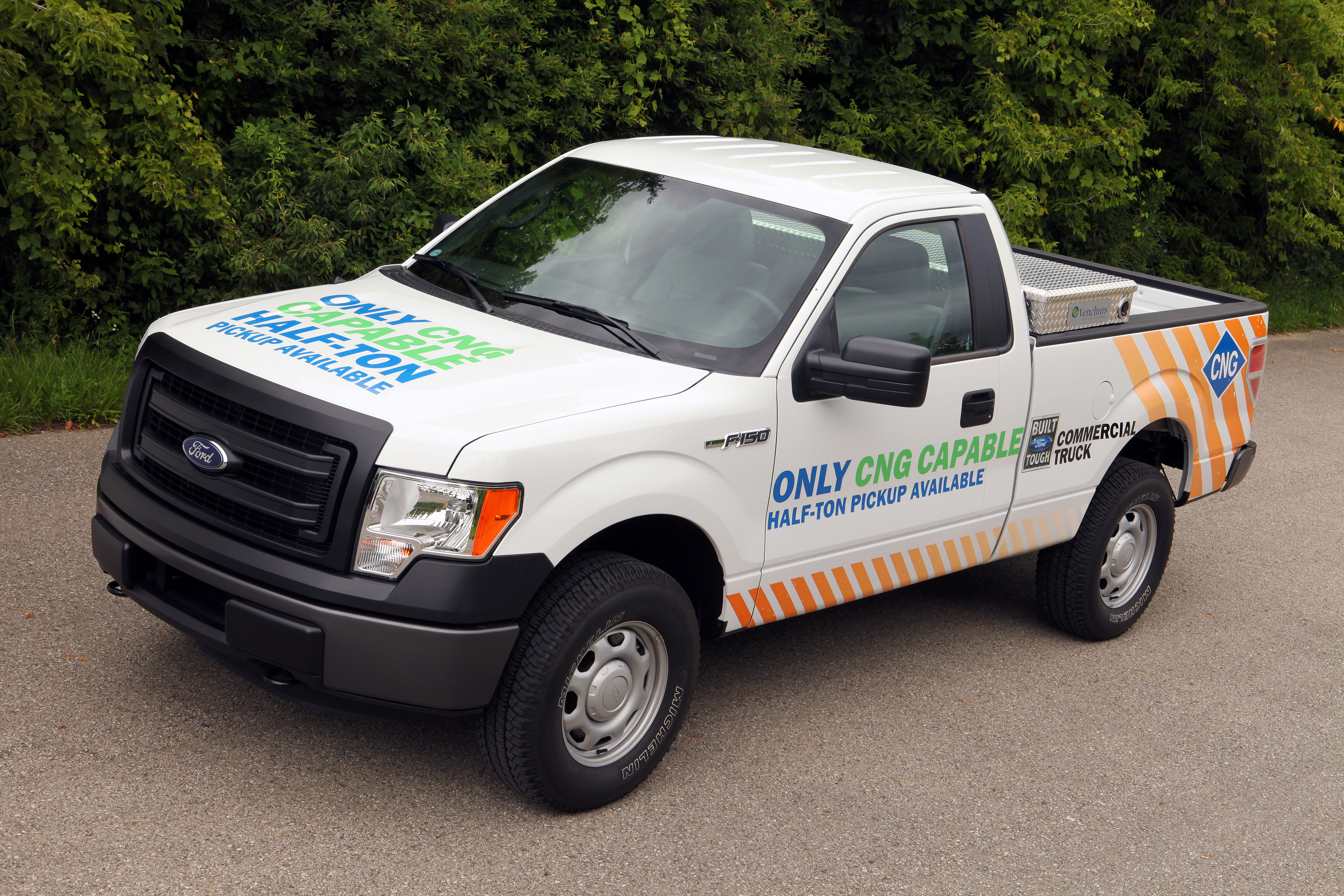 The 2014 Ford F-150 gets compressed natural gas option