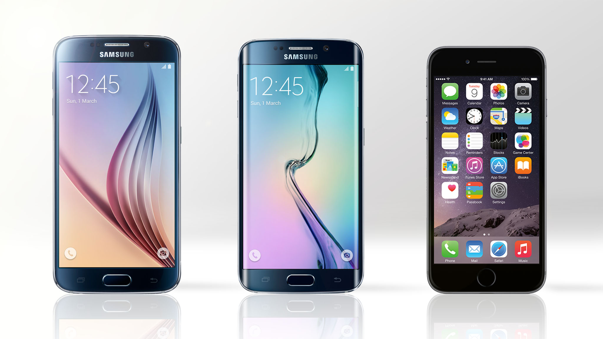 Samsung Galaxy S6 (and GS6 edge) vs. iPhone 6