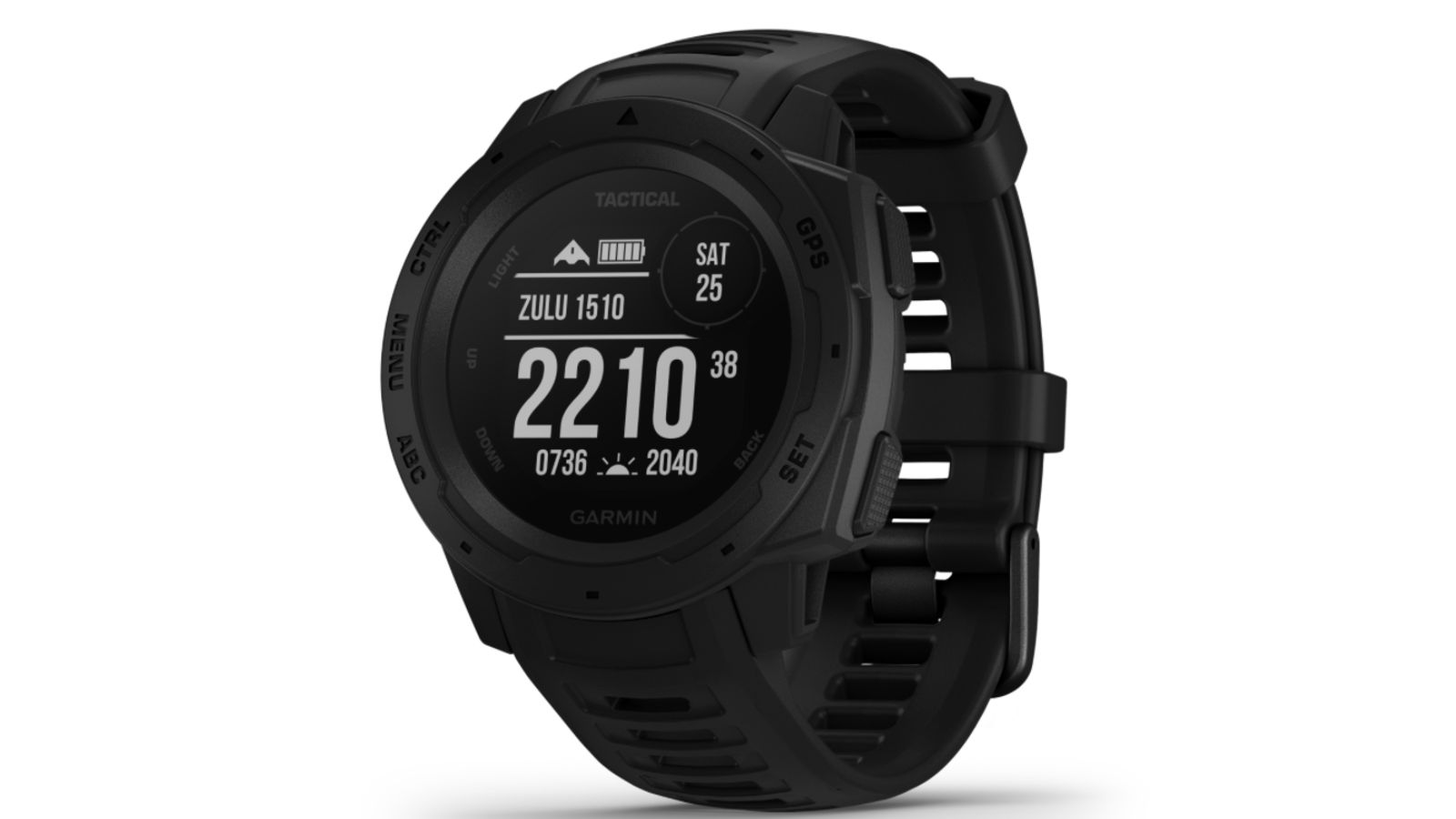 Garmin's tough new Tactical Edition watch comes with stealth mode and night vision support