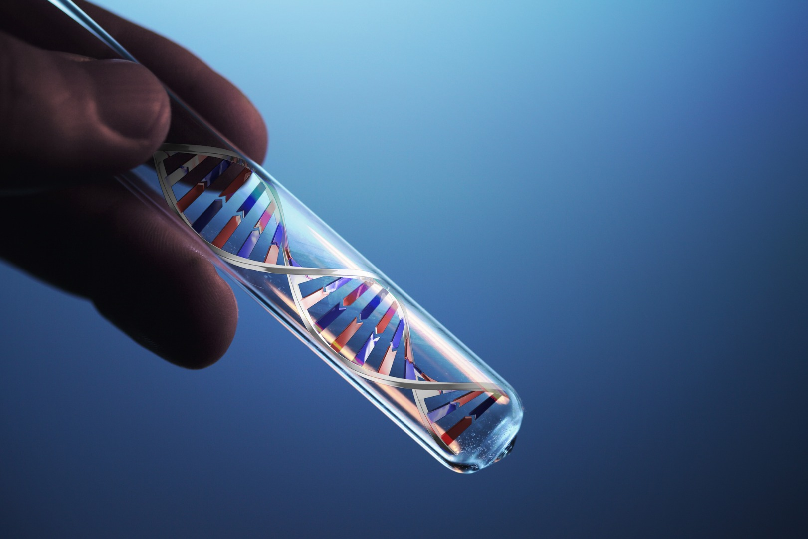 CRISPR-Cas9 gene-editing tool used in first human trial