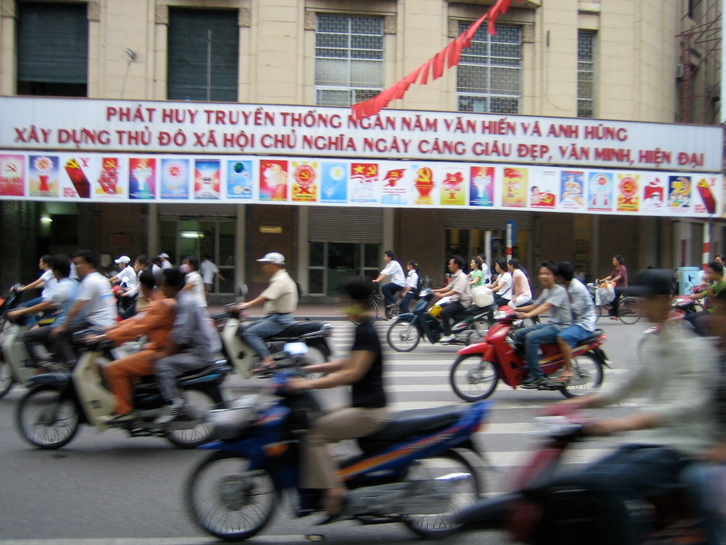 Hanoi plans to ban motorcycles altogether by 2030