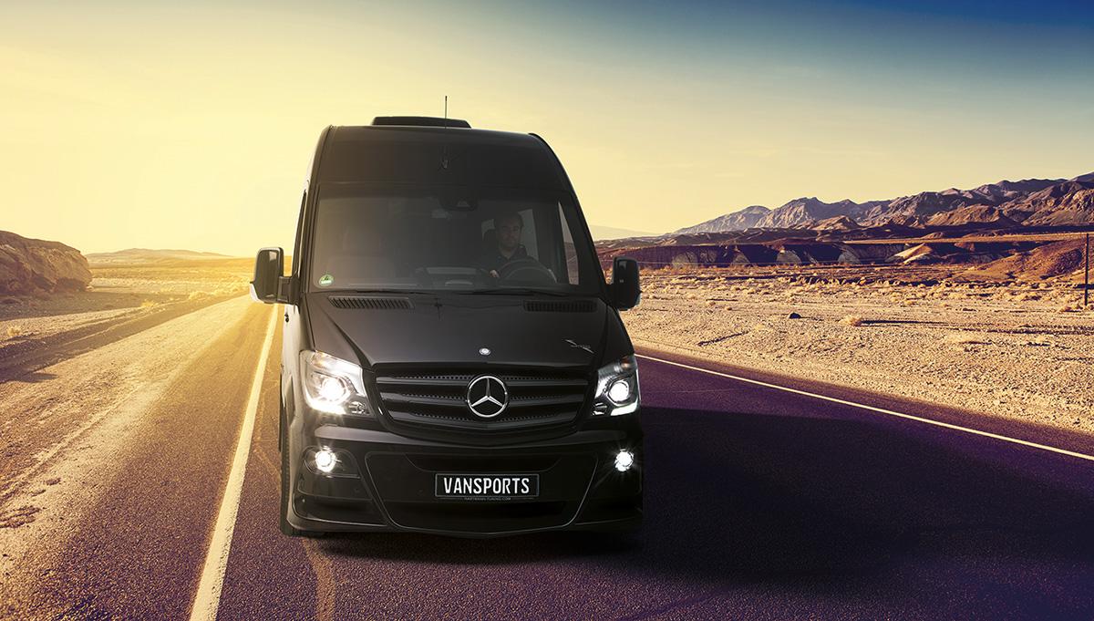 Mercedes Sprinter Vansports Camper keeps multi-day adventure sleek and simple
