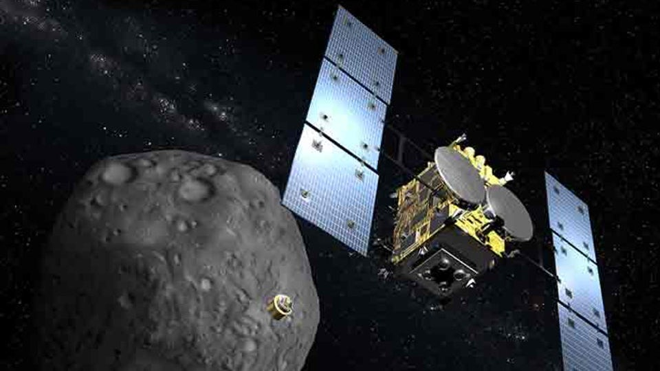 JAXA confirms Hayabusa2 is first spacecraft to ever bomb an asteroid