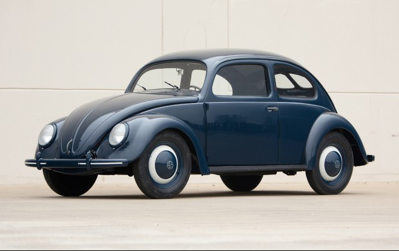 """1961 Volkswagen Beetle Bug Even Covered In Snow It/'s Obviously 8.5 x 11/"""""""