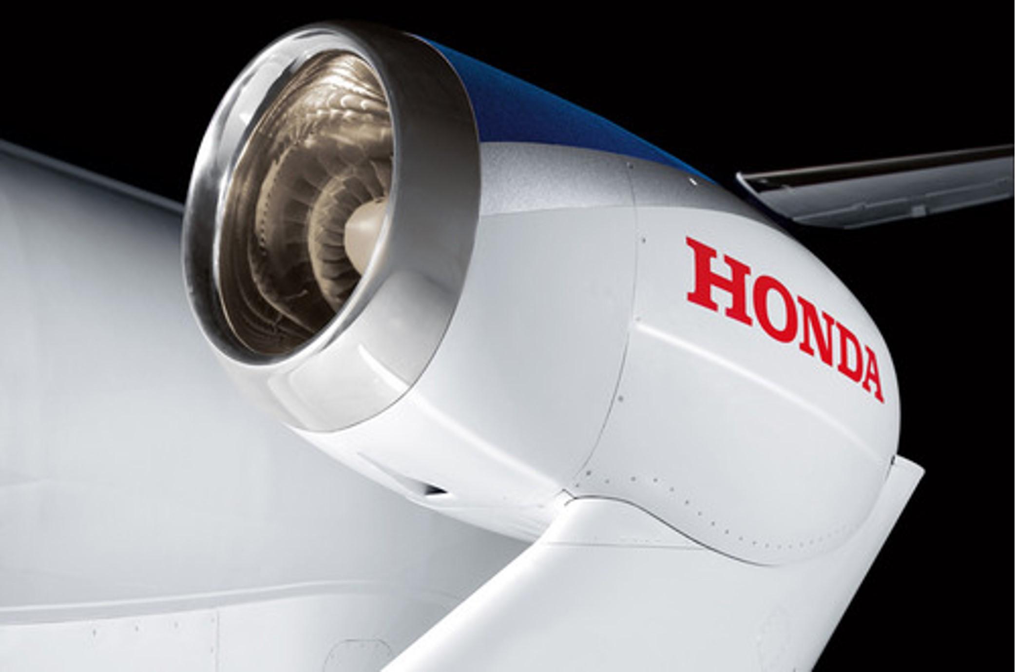 HondaJet gets its engine
