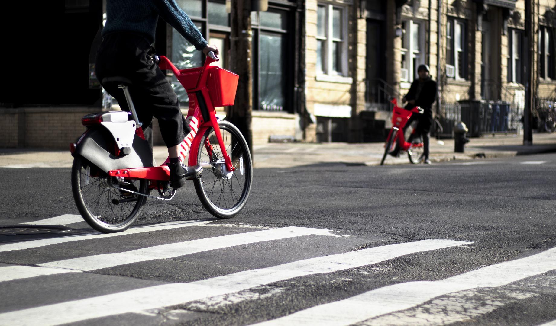Uber snaps up bike-share company Jump