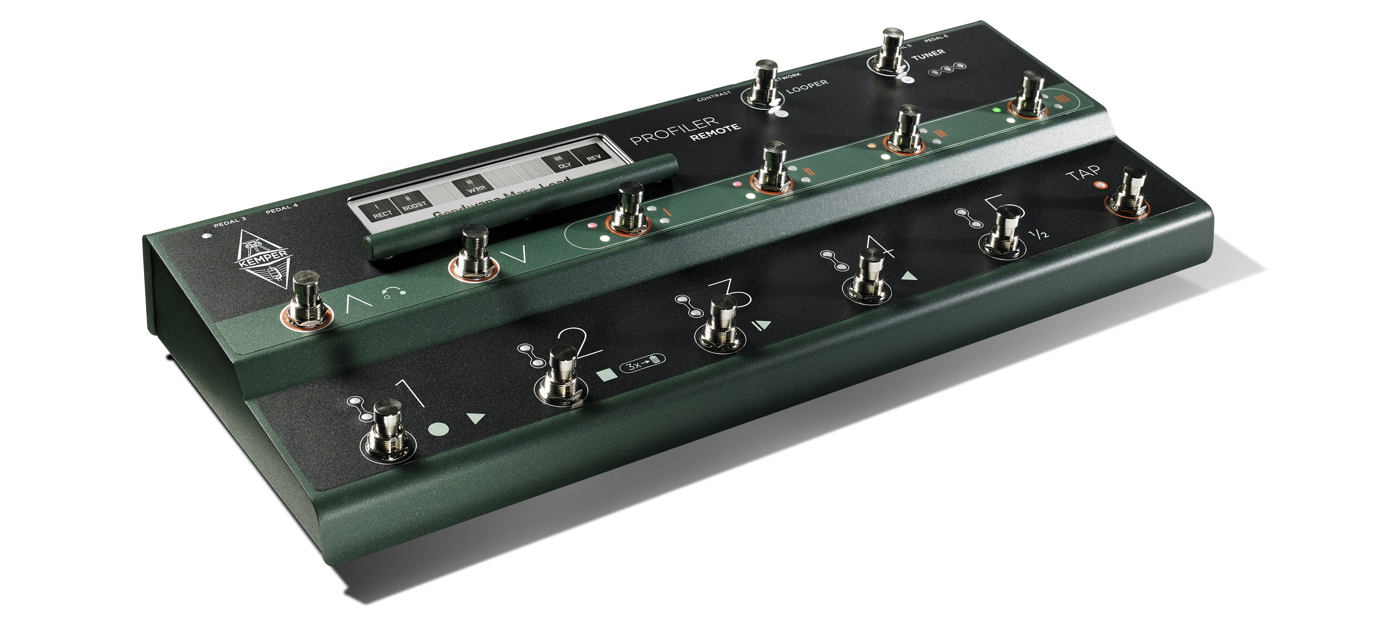 Kemper Remote offers hands-free access to Profiler's