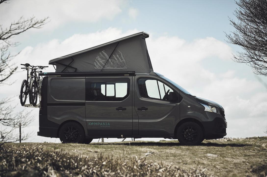 Slick, versatile camper van becomes a camp-in movie theater