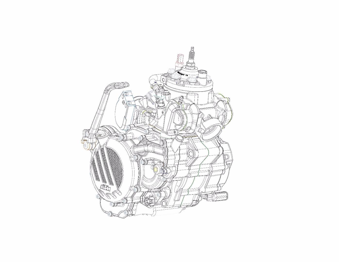 KTM announces new fuel injected two-stroke Enduro range